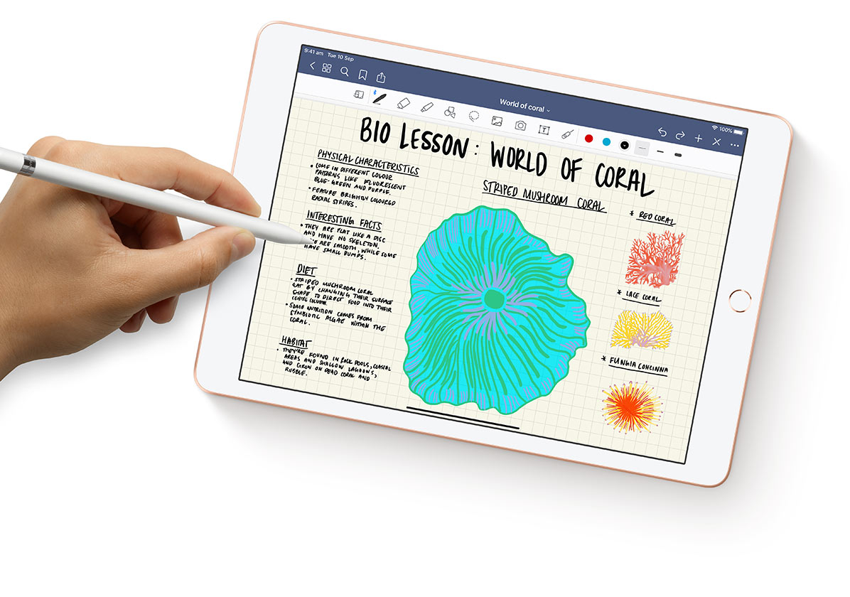 Take notes, mark up and highlight with Apple Pencil - Retravision